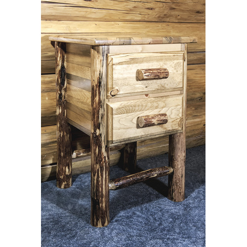 Montana Woodworks Glacier Country 2 Drawer Nightstand