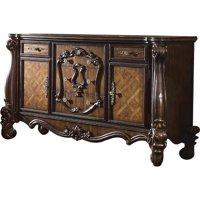 ACME 21105 Versailles Dresser, Cherry Oak - 38 x 70 x 21 in.