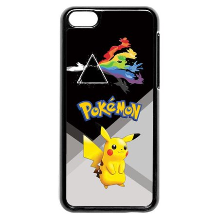 Pokemon Pikachu With Rabbits iPhone 5c Case - Pikachu With Glasses