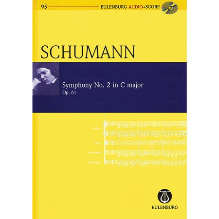 Schott Symphony No. 2 in C Major, Op. 61 Study Score Series Softcover with CD Composed by Robert