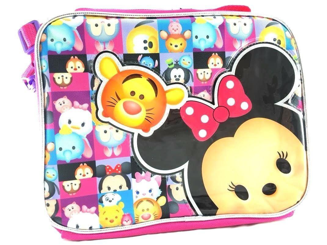 Lunch Bag Tsum Tsum Disney Minnie and Ariel Disney New 135960