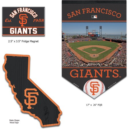 San Francisco Giants WinCraft Home Goods Gift Set - No Size