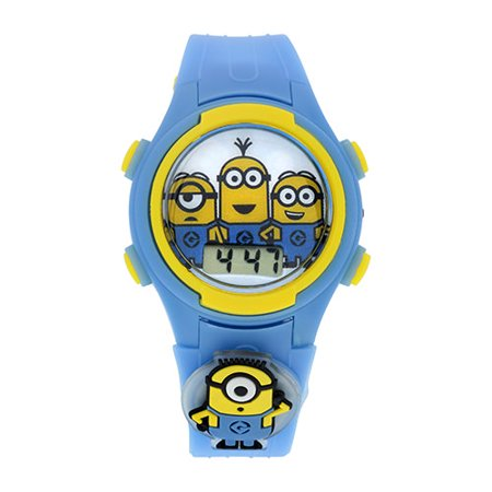 Despicable Me Kids LCD with Multi Flashing Case and Icon Watch