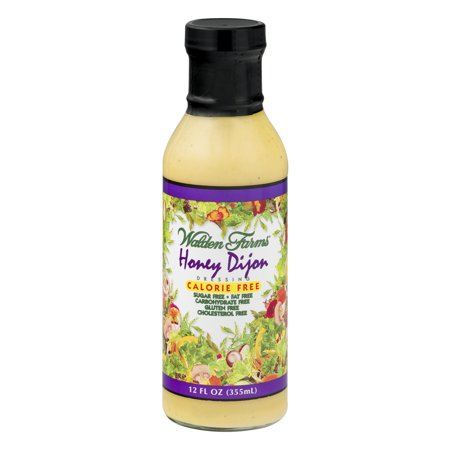 Walden Farms Honey Dijon Dressing Calorie Free, 12.0 FL OZ