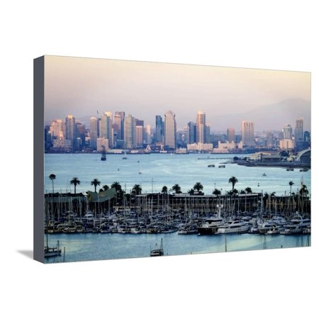 San Diego Sunset I Stretched Canvas Print Wall Art By Alan ...