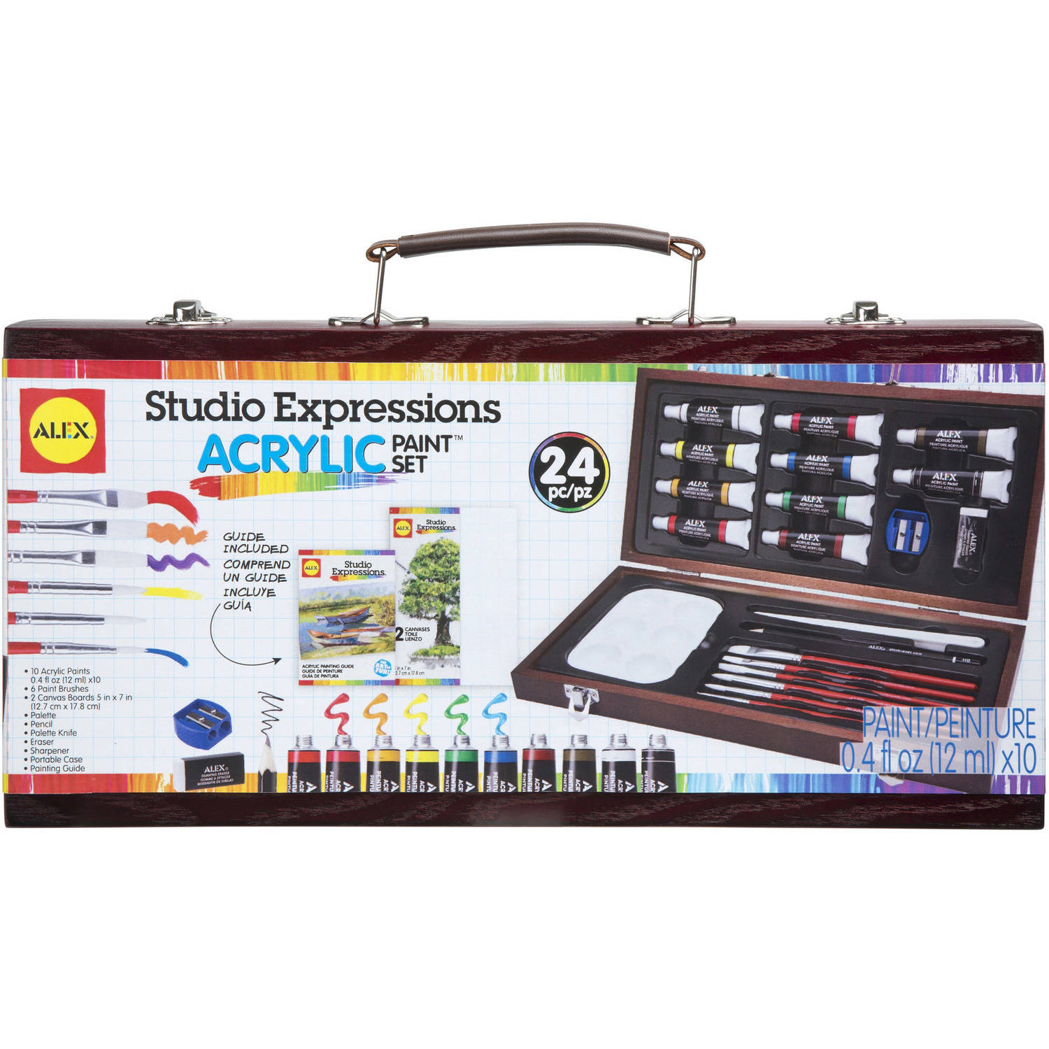 ALEX Art Studio Expressions Acrylic Painting Set by Alex Brands