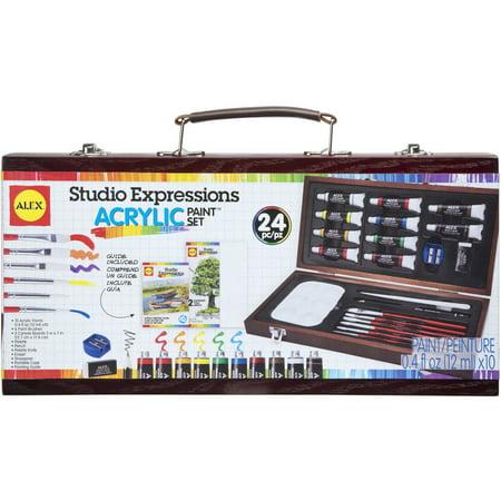 Image of ALEX Art Studio Expressions Acrylic Painting Set