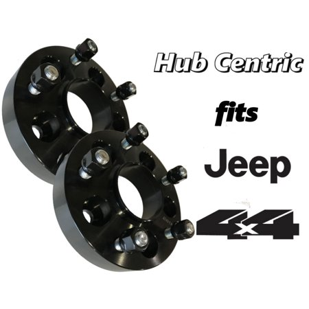 2 Jeep Hub Centric Wheel Spacers Adapters 1.25