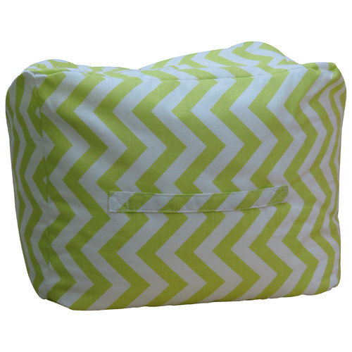 Fox Hill Trading Premiere Home Chevron Ottoman