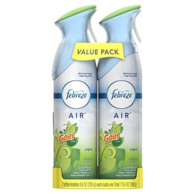 Febreze AIR Effects Air Freshener with Gain Original Scent (2 Count, 17.6 oz)