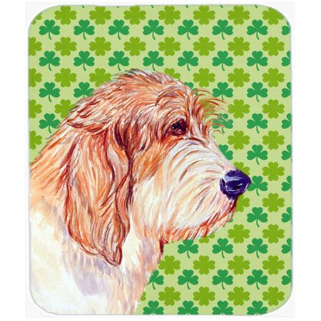 Carolines Treasures LH9217MP Petit Basset Griffon Vendeen Shamrock Mouse Pad, Hot Pad or Trivet - image 1 of 1
