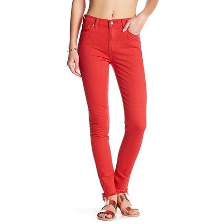 Lucky Brand NEW Women's Size 4 Red Bridgette Skinny Stretch Jeans