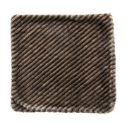 """Noble House Rayla Decorative Throw Pillow Cover, 20"""" x 20"""", Brown"""