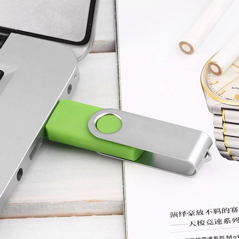 Small Size Rotation 128G High Speed USB 2.0 Flash Drives Memory Stick U Disk