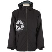 Sessions SOS Snowboard Jacket Black Mens