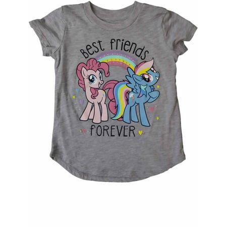 Infant Toddler Girls My Little Pony Best Friends Rainbow Dash Tee (Best Of Rainbow Dash)