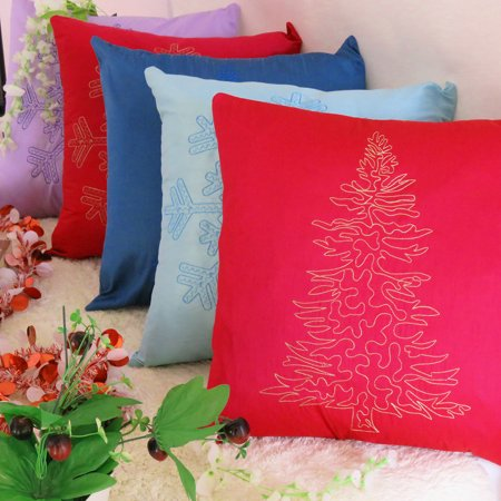 Pink Christmas Couch Covers