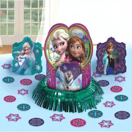 Frozen Table Decoration Kit Disney Magic Elsa Anna Birthday Centerpiece Party Decor - Frozen Center Pieces