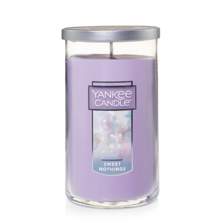 Yankee Candle Sweet Nothings - Medium Perfect Pillar Candle