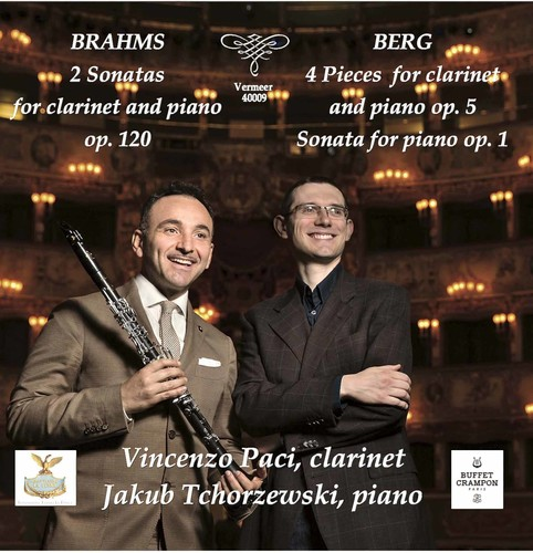 Berg   Brahms   Paci   Tchorzewski Brahms & Berg: Works for Clarinet & Piano [CD] by