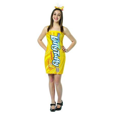 Nestle Laffy Taffy Banana Costume Mini Dress Teen Teen 13 16