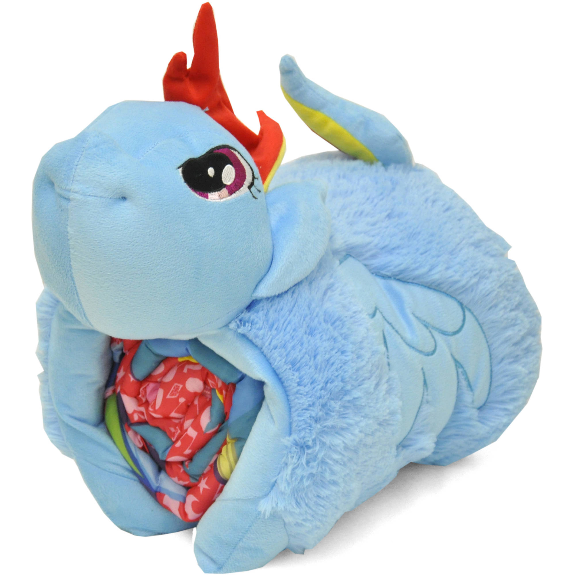 My Little Pony 3D Pillow With Sleeping Bag