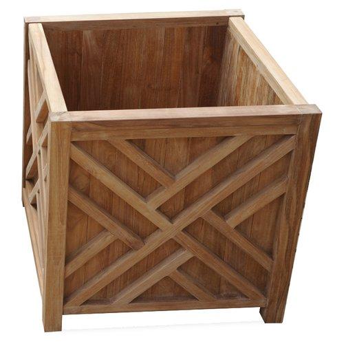 Regal Teak Chippendale Teak Planter Box