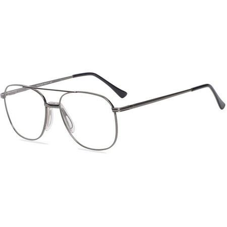 Via Milano Mens Prescription Glasses, Kyle Gunmetal