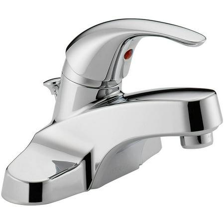 Peerless Tunbridge Single Handle Centerset Bathroom Faucet in Chrome P