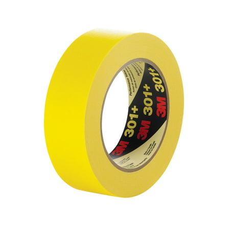 3M Performance Yellow Masking Tape, 0.50 Inch x 60 Yards, Yellow