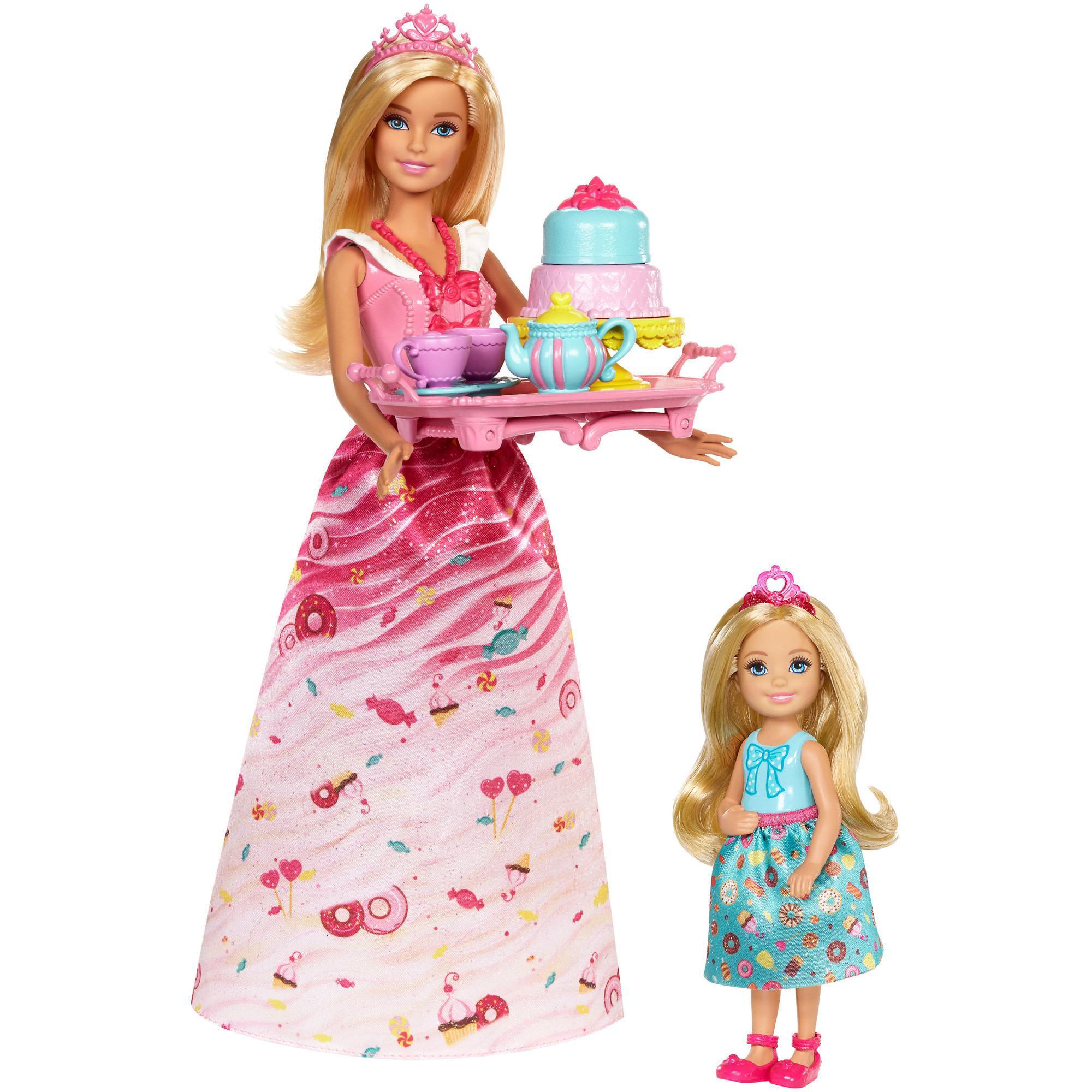 Barbie Dreamtopia Sweetville Princess Tea Party Walmart Com