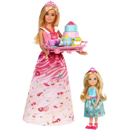 Barbie Dreamtopia Sweetville Princess Tea Party](Barbie Silhouette Party Supplies)