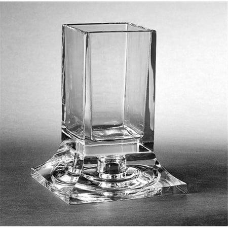 Majestic Bath Collection 5. 25 inch Crystal Swab Holder
