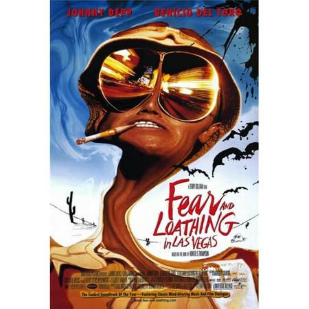 Pop Culture Graphics MOVGF7613 Fear & Loathing in Las Vegas Movie Poster Print, 27 x 40](Las Vegas Theme Ideas)