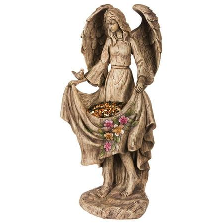 Evergreen Enterprises Wings of An Angel Birdfeeder Statuary](Angel Wings Buy Online)