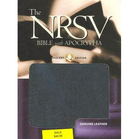 Pocket Bible-NRSV (Professor Pocket)