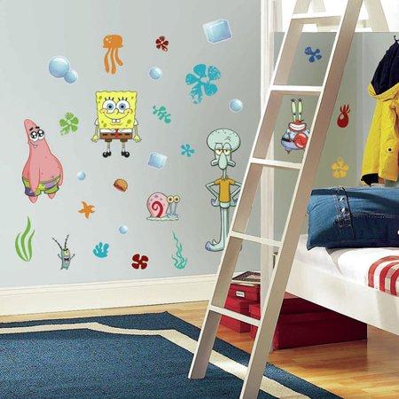 Spongebob Squarepants Decor - Wallhogs SpongeBob Squarepants Cutout Wall Decal