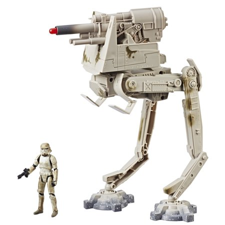 Star Wars Force Link 2.0 AT-DT Imperial Walker with Stormtrooper (Mimban) Figure (Full Stormtrooper Armor)