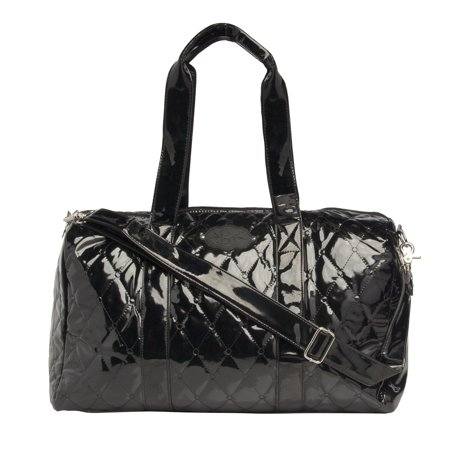 9d55a387282e Sugar Lulu 19 Inch Patent Leather Duffle Bag for Kids Travel Bag for Women  Sleepover Bags for Girls Cute - Walmart.com