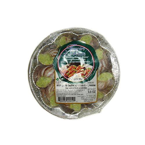 Escargot Achatines, Large in Garlic Butter - 3.5 oz