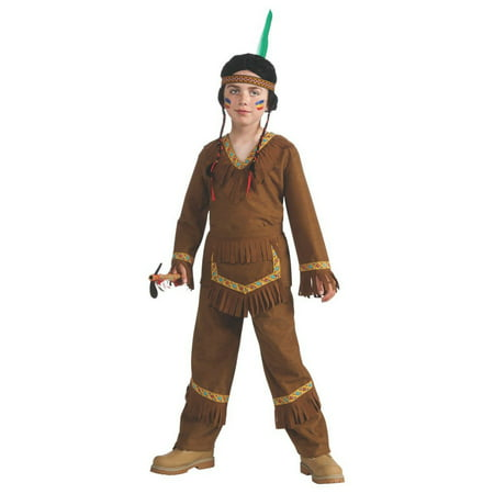Halloween Native American Boy Child Costume