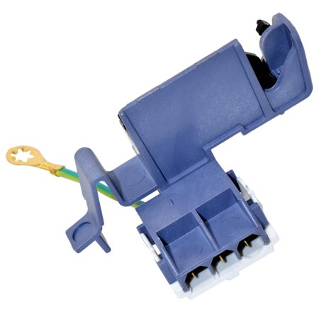 HQRP Washer Lid Switch for Maytag MAT14CSAGW0 MAT14CSBGW0 MAT15MNAGW0 MAT15MNBGW0 MTW5570TQ0 MTW5600TQ0 MTW5600TQ1 MTW5600TQ2 plus HQRP Coaster
