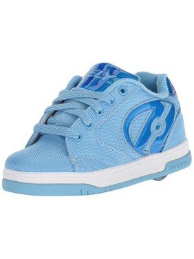 Kids Heelys Boys Propel Ballistic Low Top Lace Up, Blue, Size 5 M Us Big Kid