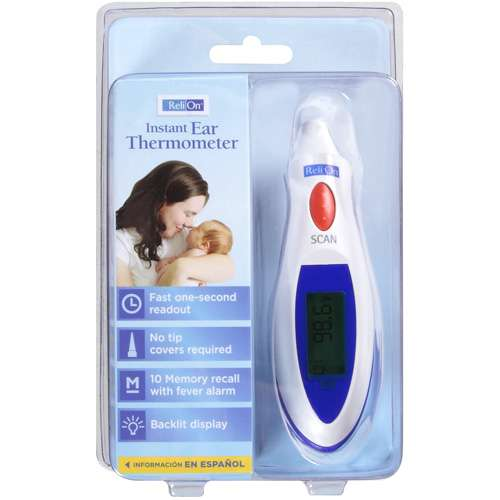 ReliOn Ear Thermometer, 1 ct
