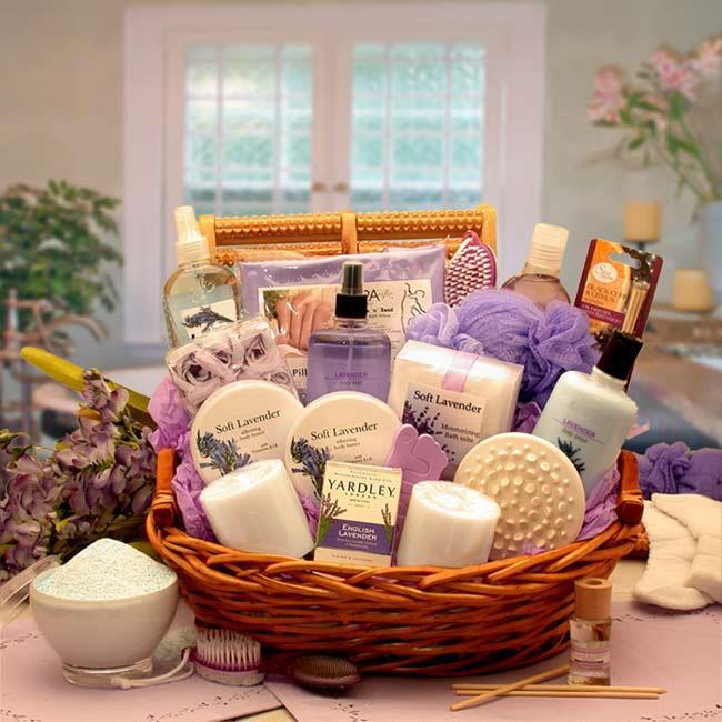 Gift Basket Drop Shipping 8413112 The Essence of Lavender Spa Gift Basket