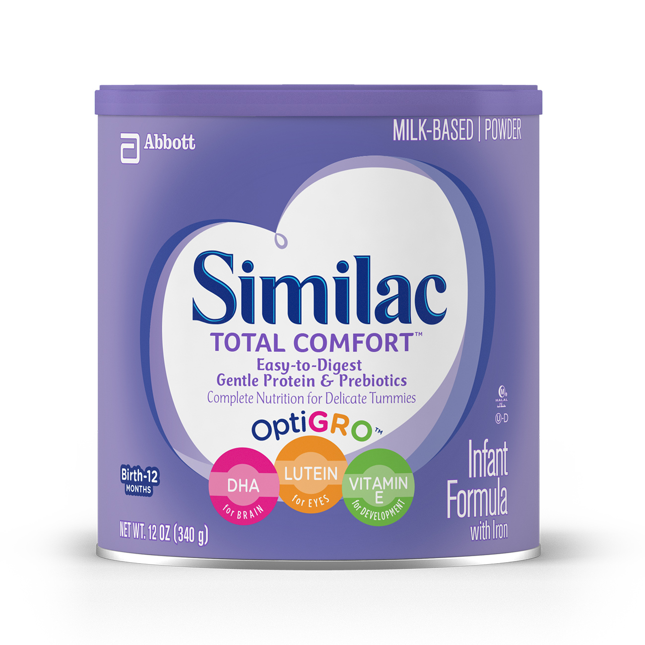 Similac Total Comfort Infant Formula With Iron Powder 12 Oz Com