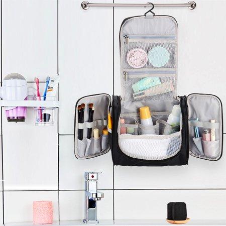 Portable Travel Toiletry Bag Waterproof Washbag Hanging Travel Kit - SortWise™ - image 1 de 5