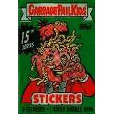 Garbage Pail Kids Series 15 Trading Card Sticker (Garbage Pail Kids Cards)