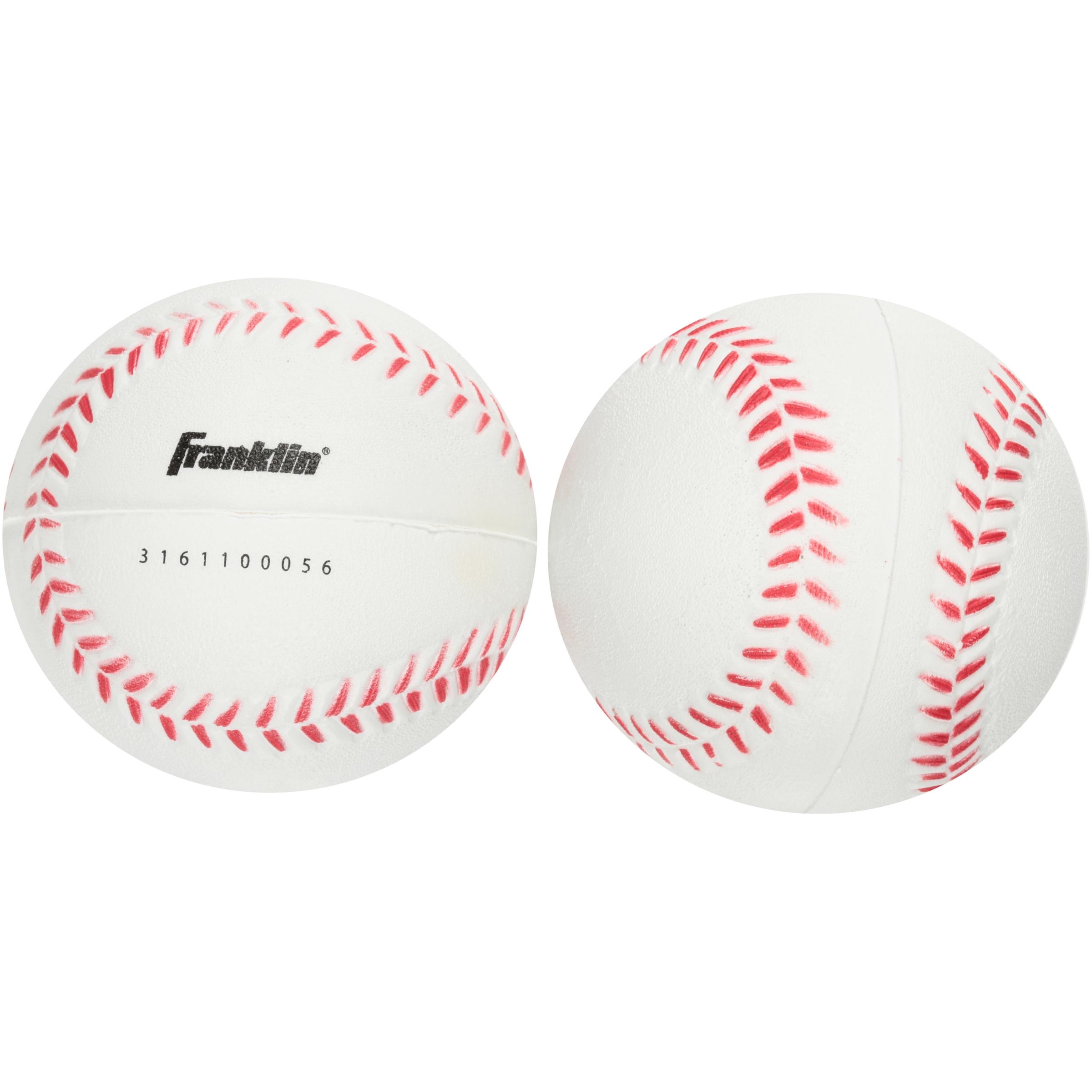Franklin MLB® Foam Baseballs 2 ct Pack