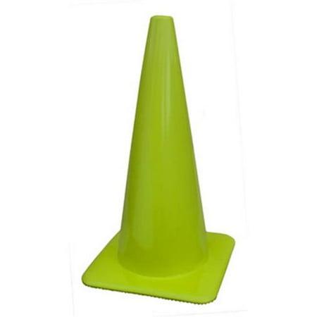 Everrich Evb 0017 4 15 In  Height Plastic Cones   Green